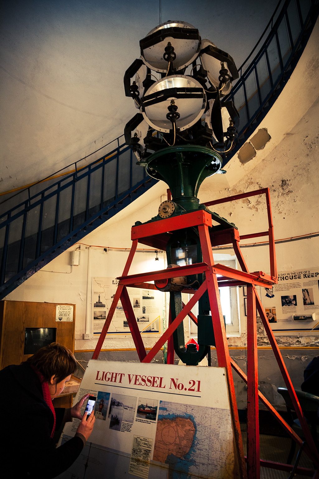 LV21 Optic At St Marys Lighthouse