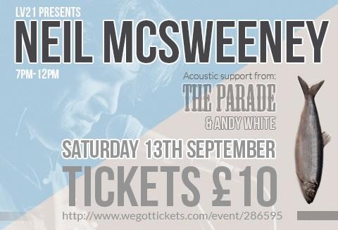 Neil McSweeney Live